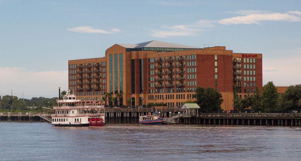 Marriott Hotels Savannah Ga Beach